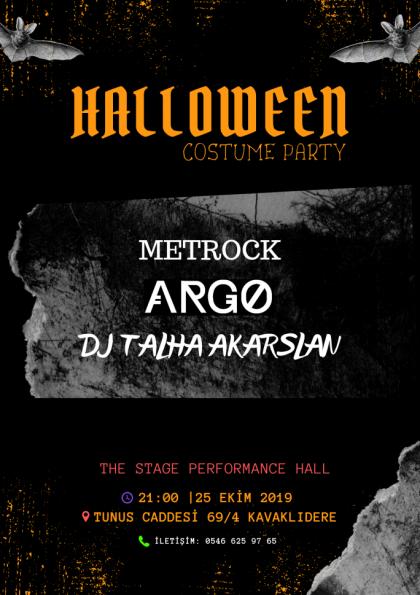 Halloween Costume Party Afişi