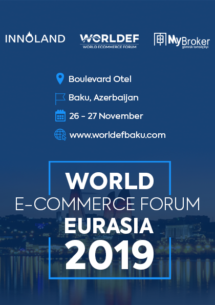 World E-Commerce Forum Eurasia Baku 2019 Afişi