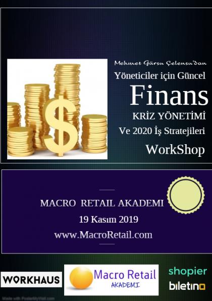 Yöneticiler için Finans, Kriz Yönetimi ve İş Stratejileri Eğitimi Etkinlik Afişi