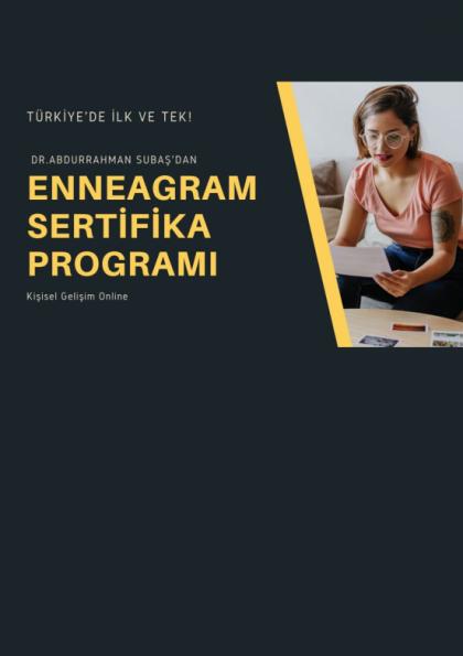 Enneagram Sertifika Programı Etkinlik Afişi