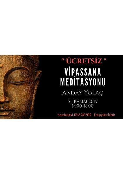 ÜCRETSİZ !!! Vipassana Meditasyonu