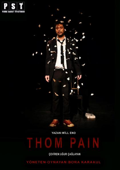 Thom Pain / Fade Satage&Coffee Etkinlik Afişi