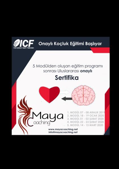 ICF Onaylı Koçluk Eğitimi Etkinlik Afişi