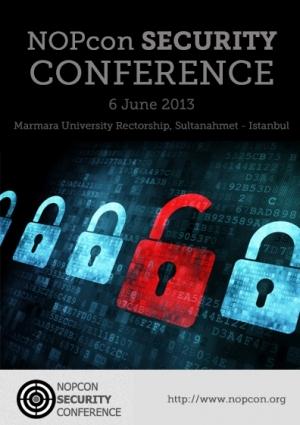NOPcon Bilgi Güvenliği Konferansı Etkinlik Afişi