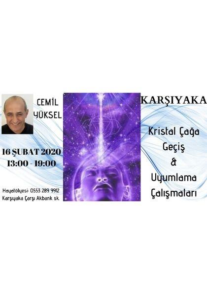 Cemil Yüksel ile Kristal Çağa Geçiş & Uyumlama Çalışmaları Etkinlik Afişi