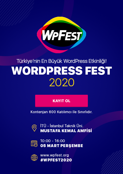 WPFest'20 - WordPress Fest 2020