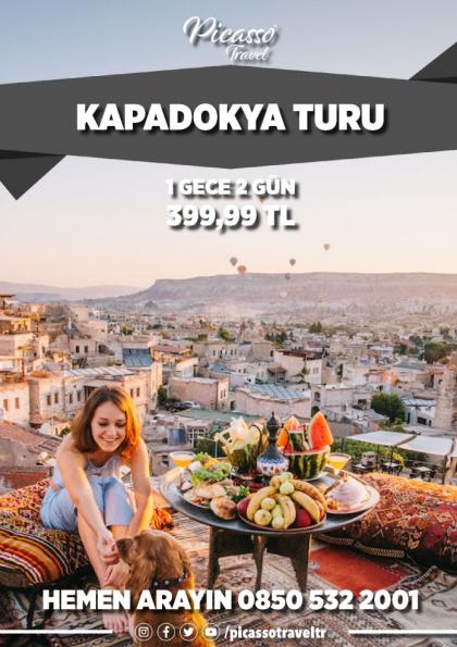 Kapadokya Turu Etkinlik Afişi