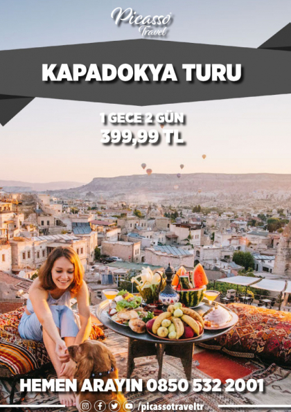 Kapadokya Turu Afişi