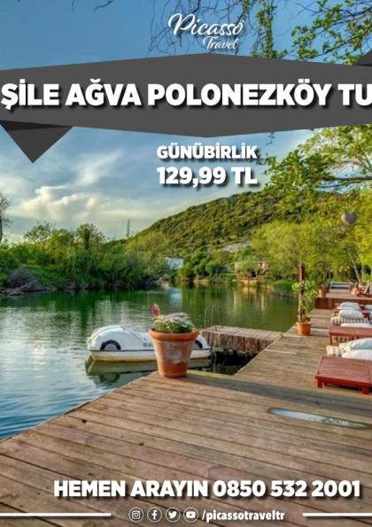 Şile Ağva Polonezköy Turu Etkinlik Afişi