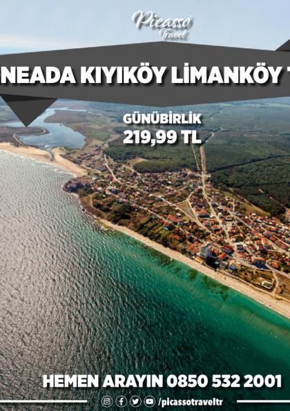 İğneada Kıyıköy Limanköy Turu Etkinlik Afişi