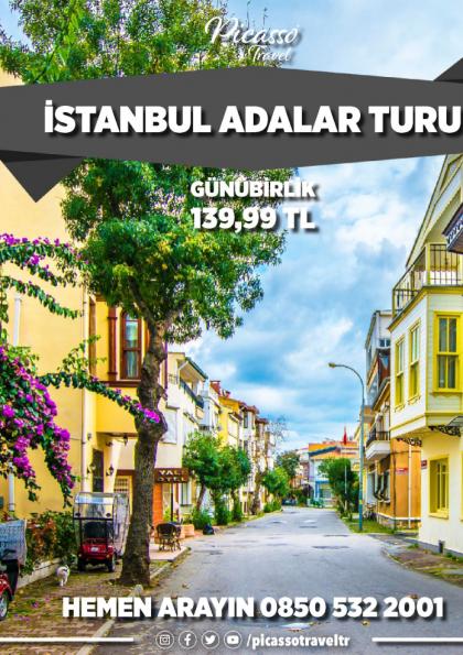 İstanbul Adalar Turu Afişi