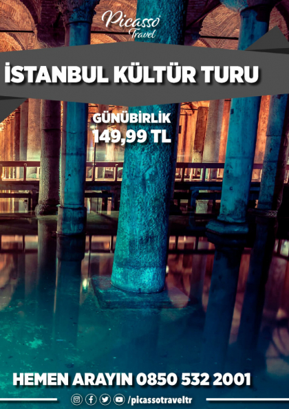 İstanbul Kültür Turu Afişi
