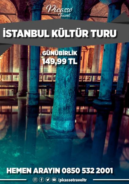 İstanbul Kültür Turu Etkinlik Afişi