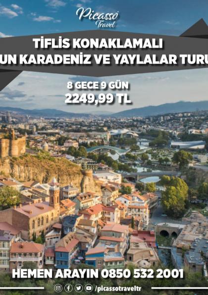 Tiflis Konaklamalı Uzun Karadeniz ve Yaylalar Turu Etkinlik Afişi