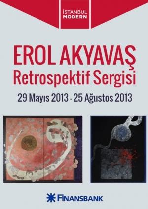 Erol Akyavaş Retrospektif Sergisi Etkinlik Afişi