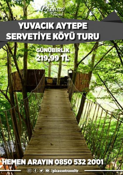 YUVACIK AYTEPE SERVETİYE KÖYÜ TURU Afişi
