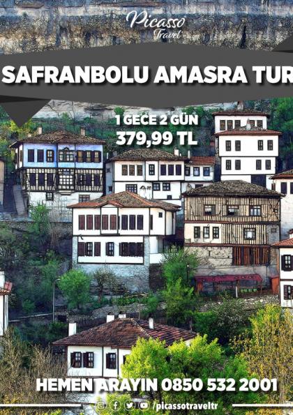 Safranbolu Amasra Turu Afişi