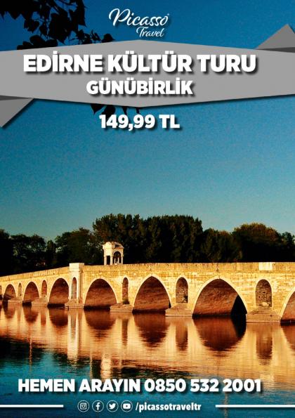 Edirne Kültür Turu Etkinlik Afişi