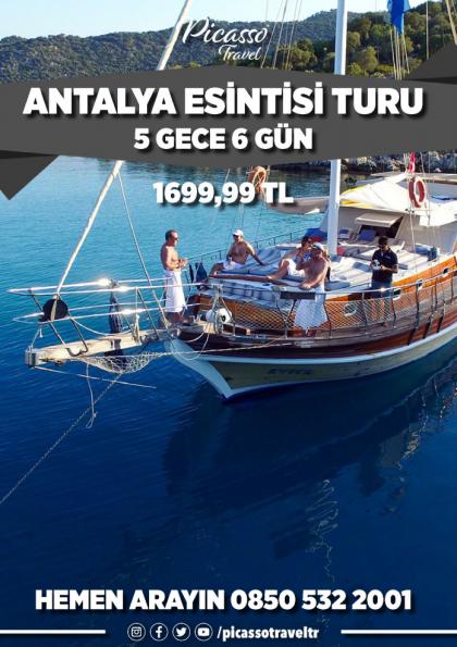 Antalya Esintisi Turu Etkinlik Afişi