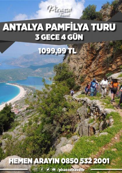 Antalya Pamfilya Turu Etkinlik Afişi