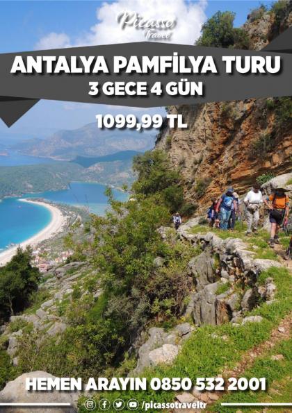 Antalya Pamfilya Turu Afişi