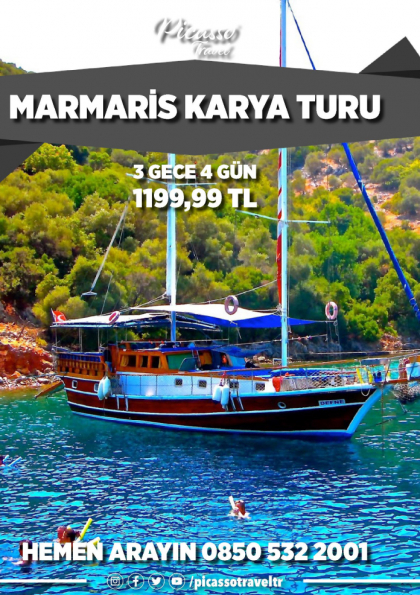 MARMARİS KARYA TURU Afişi