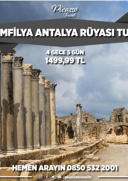 Pamfilya Antalya Rüyası Turu Etkinlik Afişi