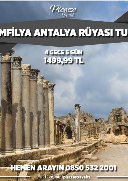 Pamfilya Antalya Rüyası Turu