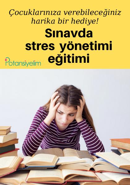 Sınavda stres yönetimi eğitimi (online)
