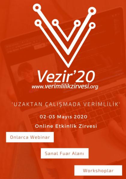 Vezir'20 Etkinlik Afişi