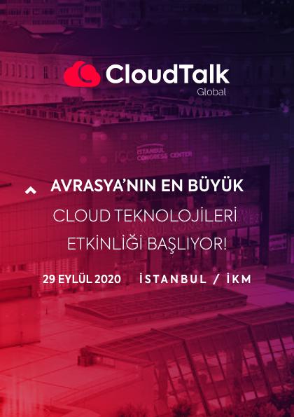 CloudTalk Global Etkinlik Afişi