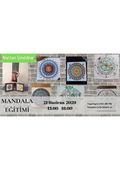 Mandala Eğitimi Etkinlik Afişi