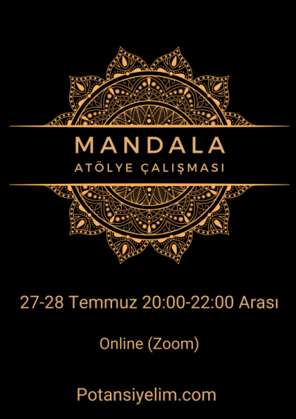 Online Mandala Atölye Çalışması