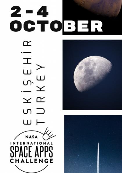 NASA International Space Apps Challenge 2020 Eskişehir Etkinlik Afişi