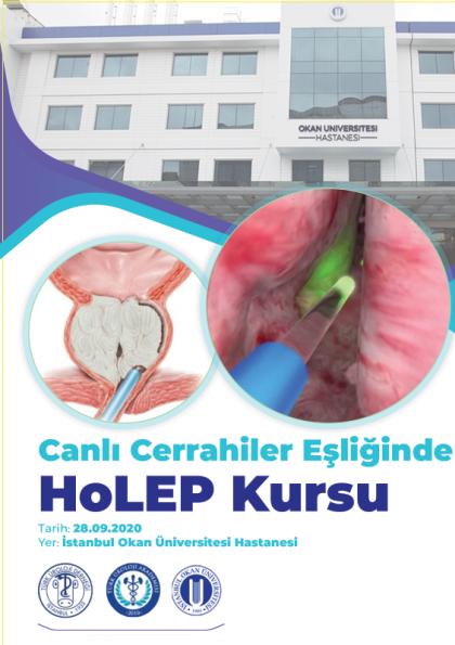 Canlı Cerrahiler Eşliğinde HoLEP Kursu Etkinlik Afişi