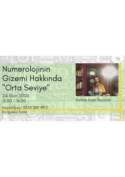 Numeroloji'nin Gizemi Hakkında Seminer '' ORTA SEVİYE '' Afişi