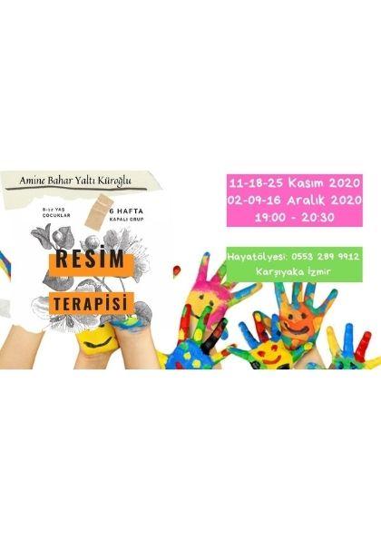 Çocuklar İçin Resim Terapisi Etkinlik Afişi