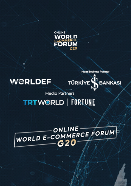 Online World E-Commerce Forum G20 Afişi