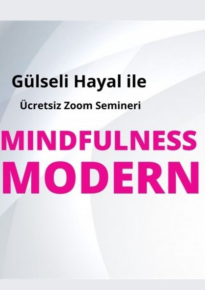 Mindfulness Modern Semineri Etkinlik Afişi