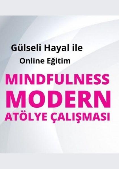 Mindfulness Modern Atölye Çalışması Afişi