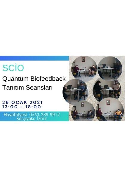 SCİO Quantum Biofeedback Tanıtım Seansları Etkinlik Afişi