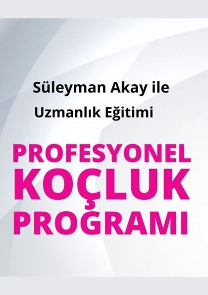 Profesyonel Koçluk Programı Afişi