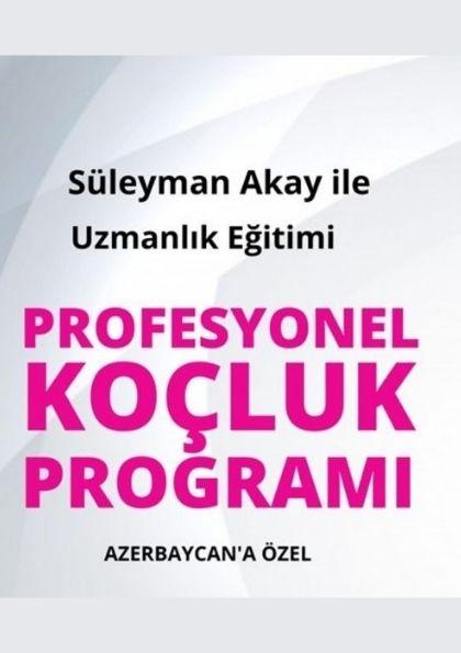 Profesyonel Koçluk Programı (Azerbaycan Sınıfı) Afişi