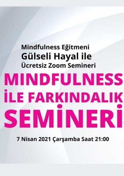 Mindfulness ile Farkındalık Semineri Afişi