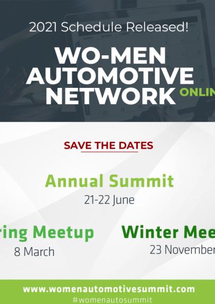 Wo-Men Automotive Spring Meetup Etkinlik Afişi