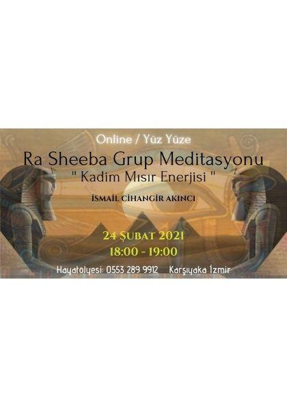 Ra~Sheeba Grup Meditasyonu Etkinlik Afişi