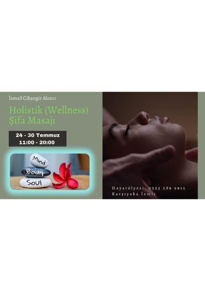 Holistik (Wellness) Şifa Masajı Etkinlik Afişi