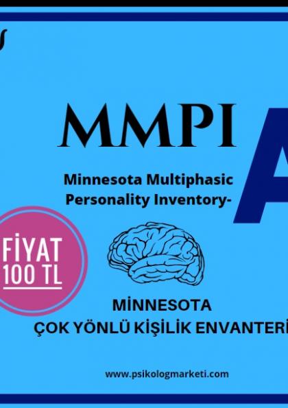MMPI Eğitimi - MMPI Testi Eğitimi 100 TL ! Afişi
