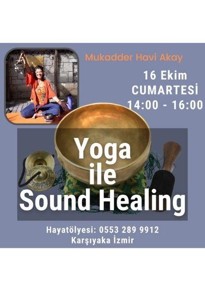 Yoga İle Sound Healing Etkinlik Afişi