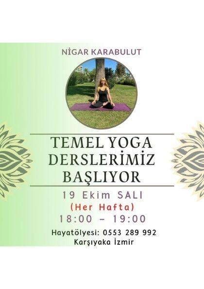 Temel Yoga Hatha Yoga Derslerimiz Başlıyor !!!